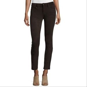 JOES THE ICON SKINNY MID-RISE SUEDE PANTS